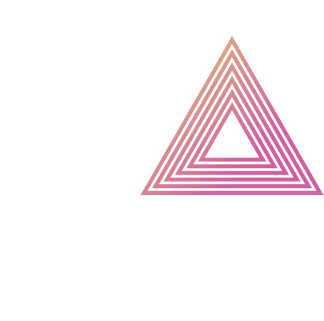 Triangles pink lines